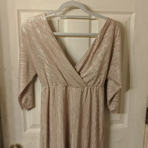 Leith Champagne Dress